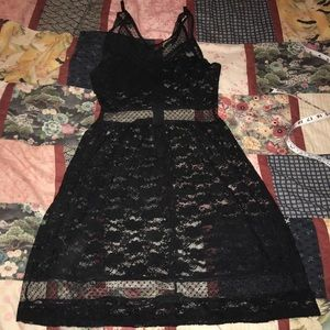 Royal bones lace dress